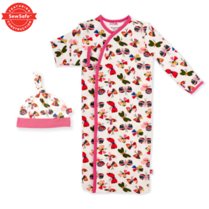magnificent baby Mag Baby Flitter Flutter Gown Set