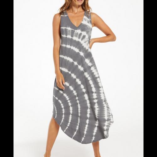 Z Supply Z supply Reverie Spiral TD Dress Char
