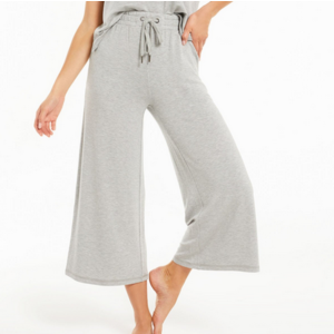Z Supply Z Supply Weekend Crop Pant Hthr Gry