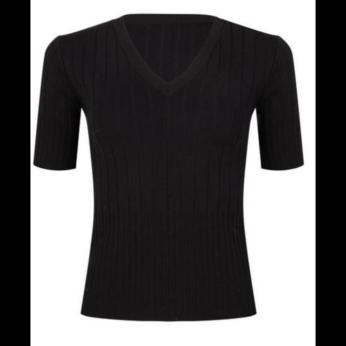 Esqualo Esqualo Knit V Blk 31210