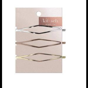 Kit-Sch Long Diamond Bobby Pins