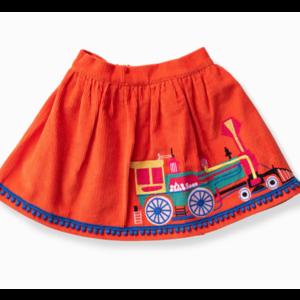 piccolina Piccolina Emb Cord Skirt Locomotives