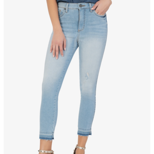 Kut Kut Connie High Rise Fab Curve Crop ANEWV