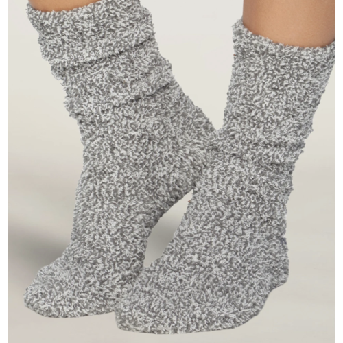 Barefoot Dreams Cozy Chic Heathered Socks B614