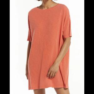Z Supply Z Supply Delta T Shirt Dress Chili