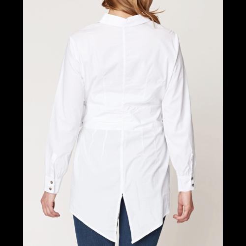 XCVI Tie Blouse White 14112