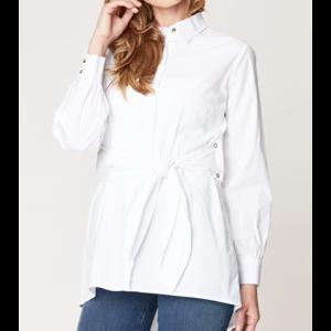 XCVI Tie Blouse White