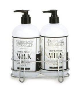 ARCHIPELAGO Archipelago Soy Milk Caddy Set 274002