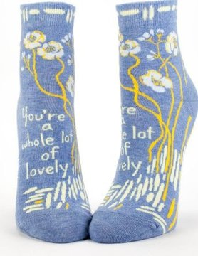 BLUE Q Blue Q Whole Lotta Lovely Socks SW601