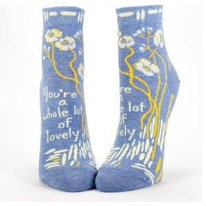 BLUE Q Blue Q Whole Lotta Lovely Socks SW601