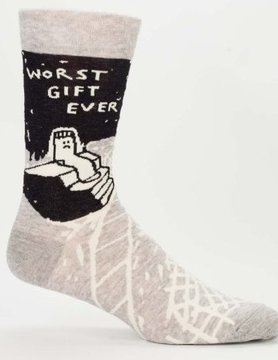 BLUE Q Blue Q Worst Gift Ever Men's Socks SW805