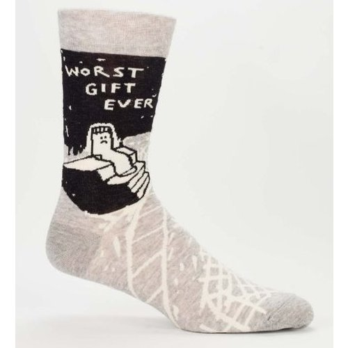 BLUE Q Blue Q Worst Gift Ever Men's Socks