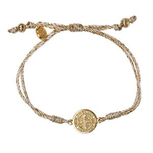 My Saint My Hero My Saint My Hero Serenity Blessing Bracelet Metallic Gold/Gold B-SER-MT-114