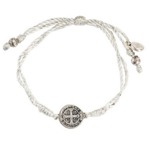 My Saint My Hero My Saint My Hero Serenity Blessing Bracelet Metallic Slv/Slv B-SER-MT-115