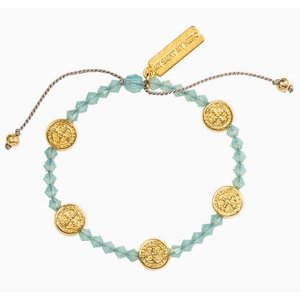 My Saint My Hero My Saint My Hero Stellar Blessings Ocean Bracelet BR38-G-PO