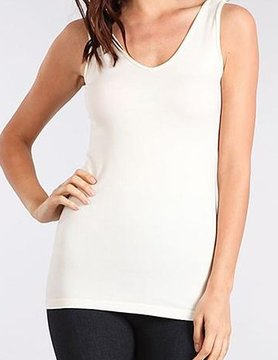 MRENA MRena O/S V/Scoop Neck Tank Short V2345