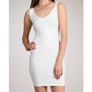 MRENA MRena O/S V/Scoop Neck Tank Long V2738