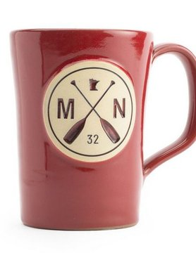 Sota Clothing Sota MN Paddle Coffee Mug Red