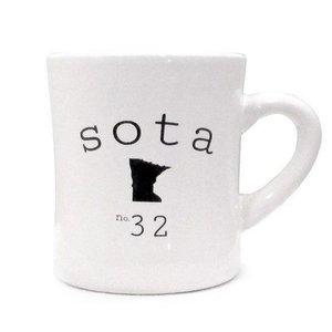 Sota Clothing Sota 32nd State Diner Mug Milky White