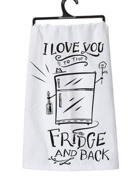 "PRIMITIVES BY KATHY primitives ""to the fridge"" towel"