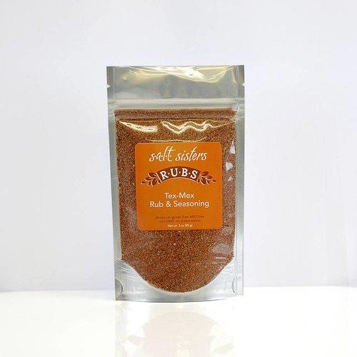 SALT SISTERS Salt Sisters Tex Mex Rub & Seasoning 3oz 509-cp4