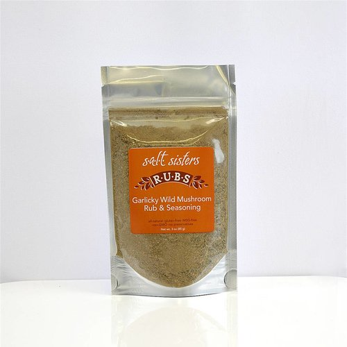SALT SISTERS Salt Sisters Garlicky Wild Mushroon Rub & Seasoning 3oz 511-cp4