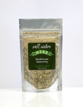 SALT SISTERS Salt Sisters Steakhouse Seasoning 4oz 214-cp4