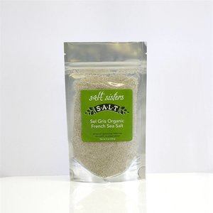 SALT SISTERS Salt Sisters Sel Gris Organic French Sea Salt 5oz 128-cp4
