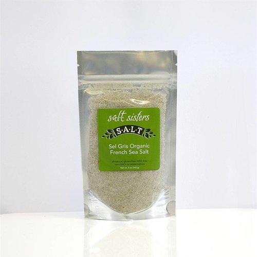 SALT SISTERS Salt Sisters Sel Gris Organic French Sea Salt 5oz 128-cp4