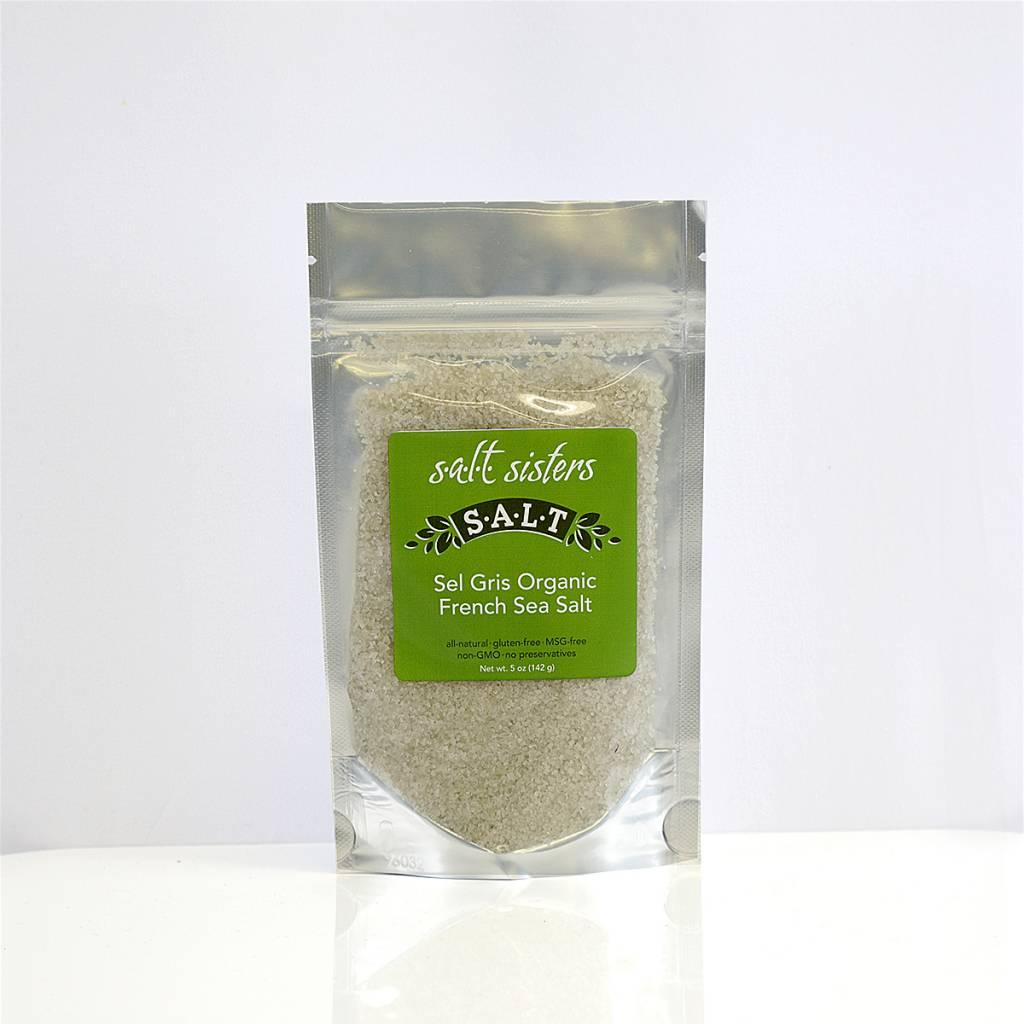 SALT SISTERS Salt Sisters Sel Gris Organic French Sea Salt 5oz