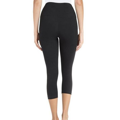 Lysse Lysse Cotton Capri Legging Black 1215