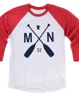 Sota Clothing Sota The Ball Park Raglan Red/Navy