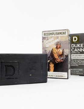 DUKE CANNON Duke Cannon Big Ass Brick of Soap- Smells Like Accmplshmt 03BLACK1
