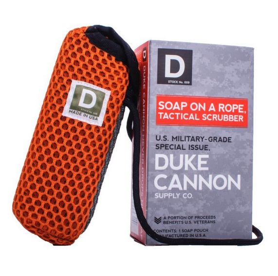 DUKE CANNON Duke Cannon Soap on a Rope Tac Pouch