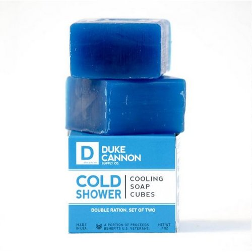 DUKE CANNON Duke Cannon Cold Shwr Cooling Soap CUBES1