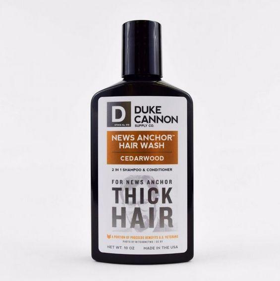 DUKE CANNON Duke Cannon News Anchor 2in1 Hair Wash Tea Tree
