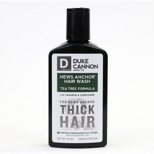 DUKE CANNON Duke Cannon 2 in 1 Hair Wash Tea Tree  Formula