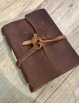 RUSTICO Rustico Good Book w/Wrap Closure Saddle BK0040