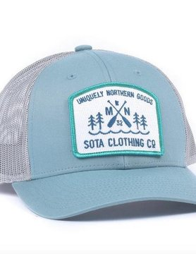Sota Clothing Sota Great River Snapback Blue Smoke