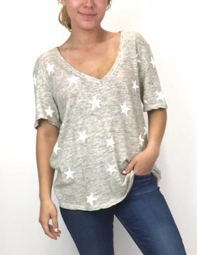 splendid Splendid Liberty Star Vnk Heather Grey