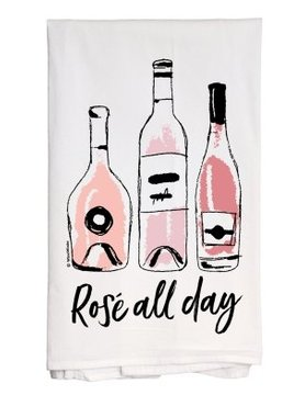 wine winks Wine Winks Rose' All Day Towel