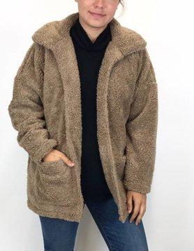 786308ec167 Z Supply Z Supply Sherpa Jacket Toffee · Z Supply Sherpa Jacket Toffee.   78.00. Add to cart · ARYEH Aryeh Mock Neck Knit Orange   Mocha