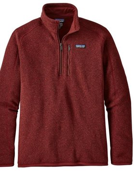 Patagonia Patagonia M's Better Sweater 1/4 Zip OX RED