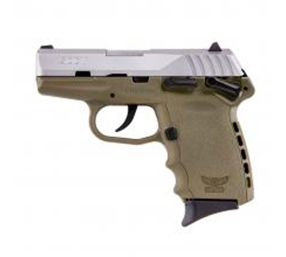 SCCY CPX-1 9MM FDE/SS