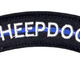 BLUE LINE SHEEPDOG PATCH (EMB)