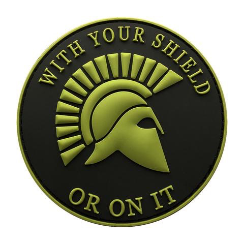 SPARTAN SHIELD PATCH (PVC)