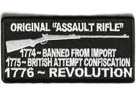 ORIGINAL ASSAULT RIFLE PATCH (EMB)