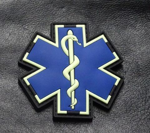 EMT MEDIC PATCH (PVC) (GLOW)