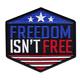 FREEDOM ISN'T FREE PATCH (EMB)
