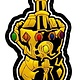 INFINITY GAUNTLET MIDDLE FINGER PATCH (PVC)